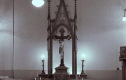 Kaplica w Wałbrzychu do 1985 r.