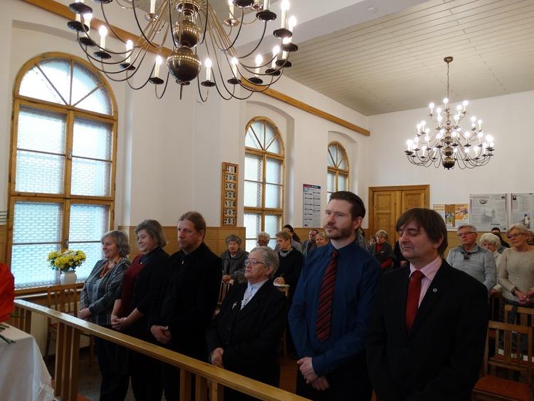 Wprowadzenie nowej Rady Parafialnej 22.01.2017 r.